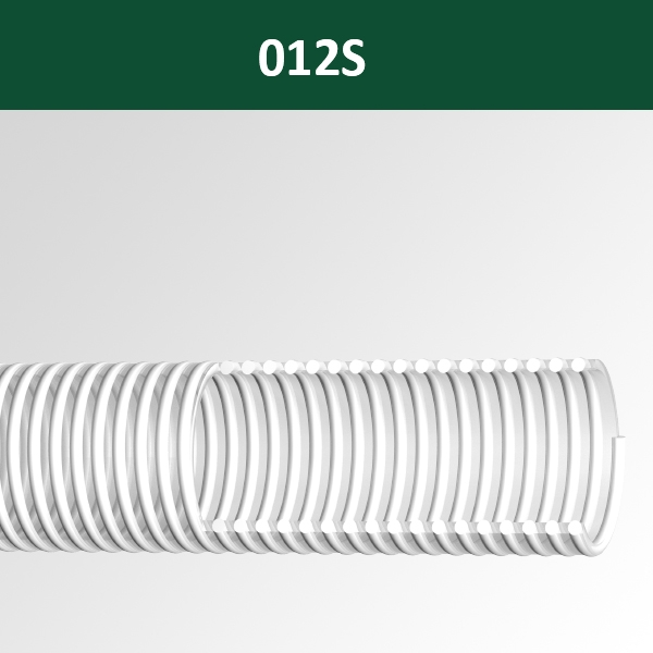 012S: Normal Duty Suction & Delivery Hose Superelastic