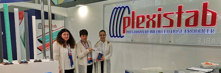 Plexistab Bulgaria at Eima International 2018 for 3th time in a row